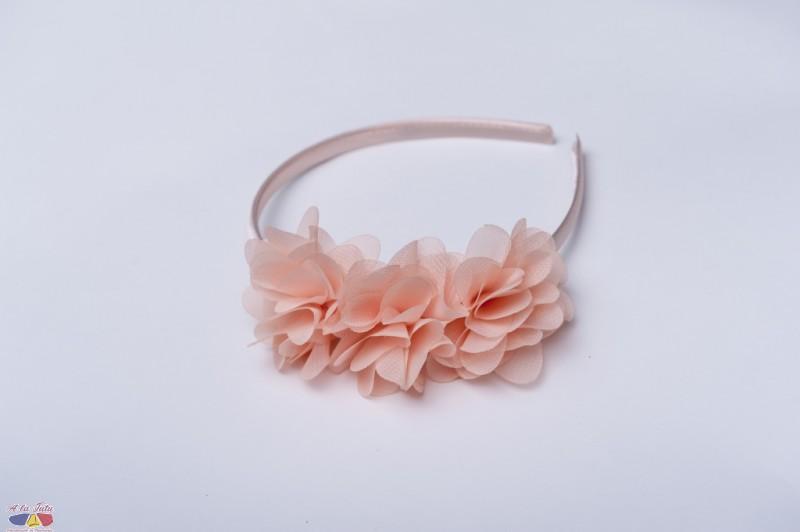 Cordeluta cu flori chiffon